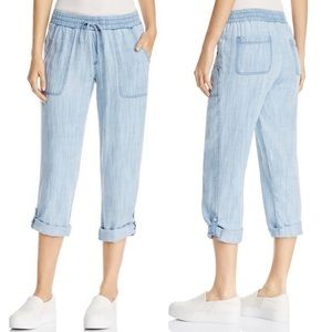 Bloomingdales Side Stitch Chambray Joggers